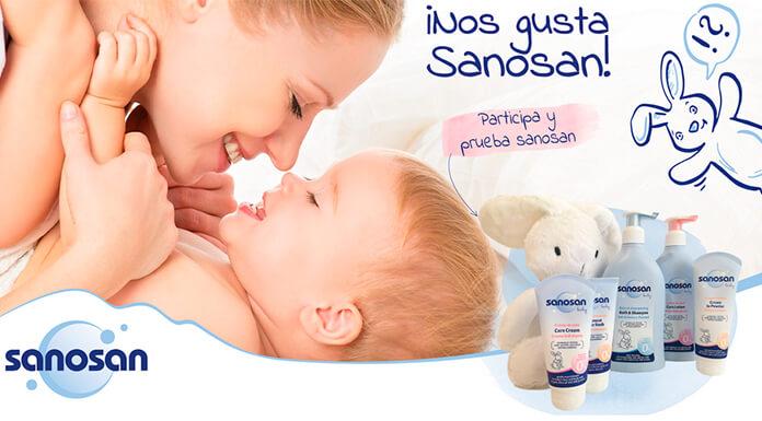 Gana un lote de productos Sanosan para tu bebé