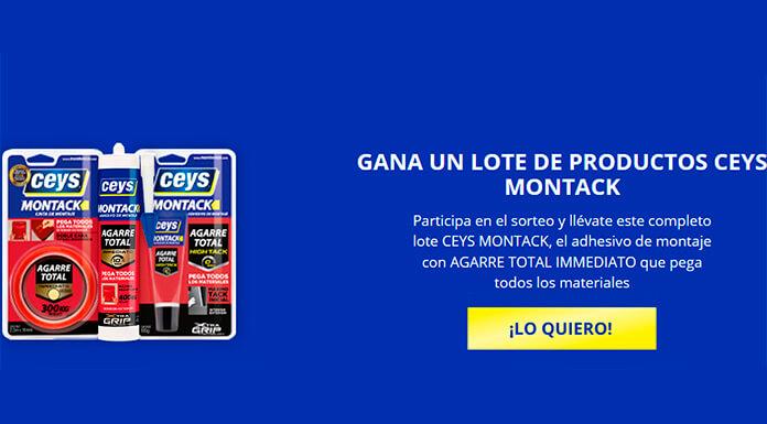 Gana un lote de productos Ceys Montack