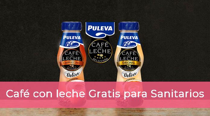 Café con Leche Puleva gratis para Sanitarios