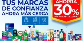 Ahorra 30% en compras de productos P&G