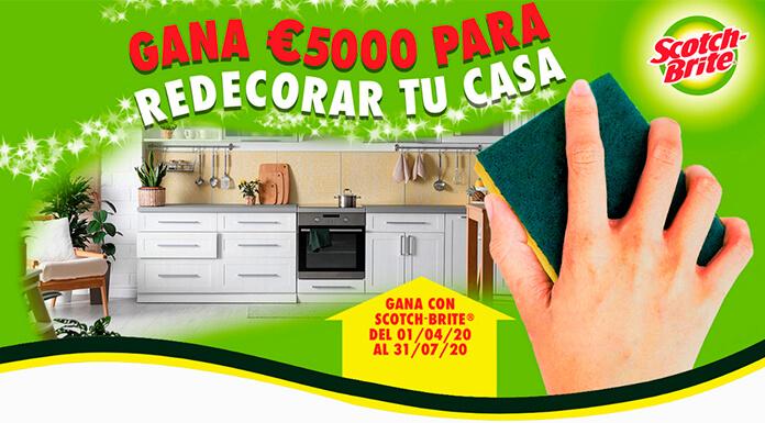 Gana 5.000 € para redecorar tu casa con Scotch-Brite