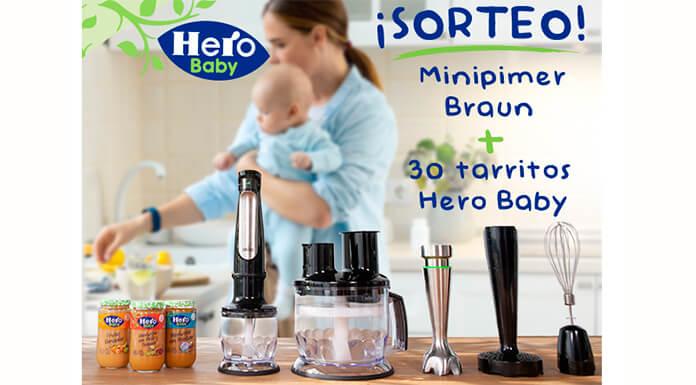 Hero Baby sortea 1 Minipimer y 30 tarritos para bebés