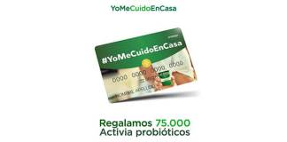 """Regalan 500 tarjetas """"Activia probióticos"""""""