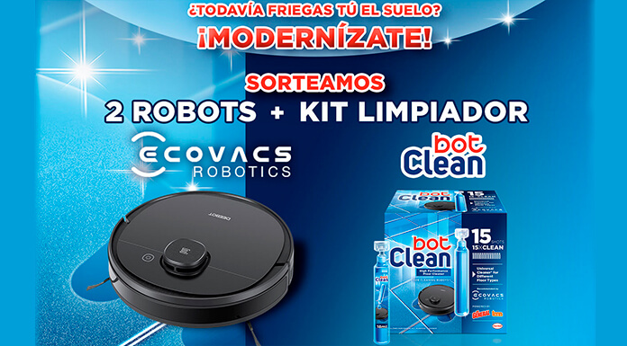 Tu Casa Club sortea 2 robots y kit limpiador