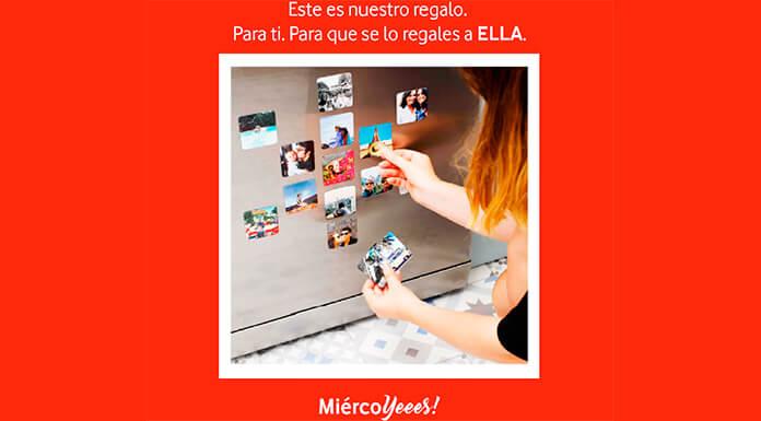 Vodafone reparte 30.000 regalos por el Día de la Madre