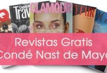 Revistas Gratis Condé Nast Mayo