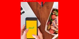 Banco Santander sortea vales en la app Glovo