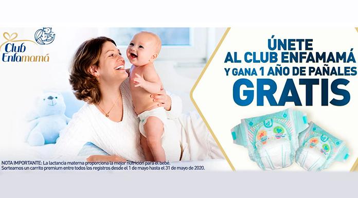 Gana 1 año de pañales gratis con Club Enfamamá