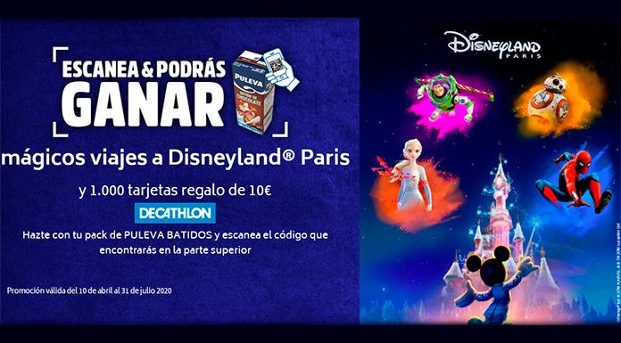 Gana mágicos viajes a Disneyland París con Puleva