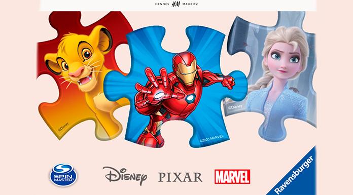 Gana un regalo de Disney con H&M