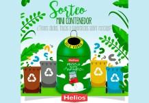 Helios sortea un mini contenedor para reciclar vidrio