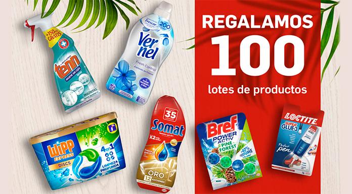 Tu Casa Club regala 100 lotes de productos Henkel