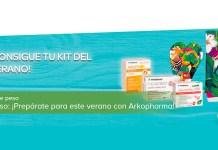 Consigue un kit del verano Arkopharma