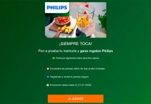 Gana regalos seguros Philips