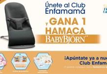 Gana una hamaca BabyBjörn con Club Enfamamá