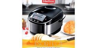 Helios sortea un robot de cocina con función panificadora