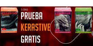 Muestras gratis de productos Kerastive