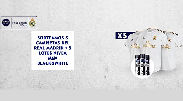 Nivea sortea 5 camisetas del Real Madrid y lotes