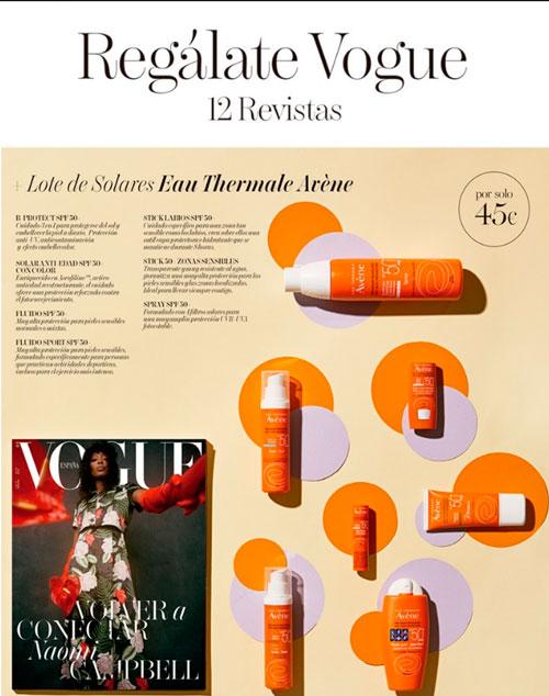 Regalos Revista Vogue Suscripción Julio 2020