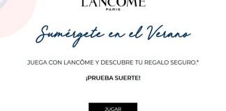 Gana regalos con Lancôme
