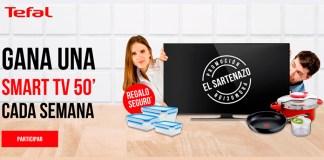 Gana una Smart Tv cada semana con Tefal