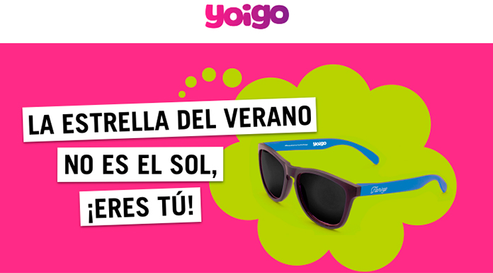 Llévate gratis unas gafas de sol con Yoigo
