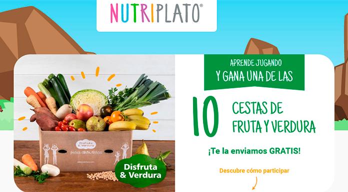 Nestlé sortea 10 cestas de fruta y verdura