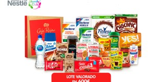 Nestlé sortea un lote de productos cada mes