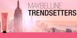 Prueba gratis Cheek Heat con Maybelline Trendsetters