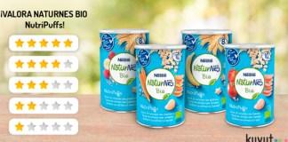 Prueba gratis Naturnes Bio NutriPuffs