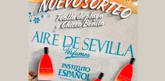 Sorteo de una toalla y Aire de Sevilla de Instituto Español