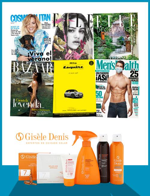 Regalos revista Cosmopolitan por suscripción agosto 2020