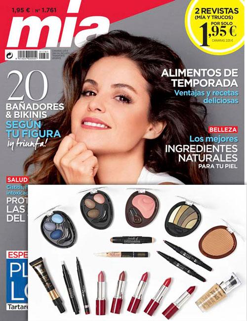 Regalos revista Mia por suscripción agosto 2020