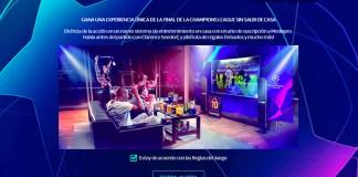 Gana una experiencia de la Champions League