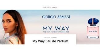 Muestras gratis del perfume My Way