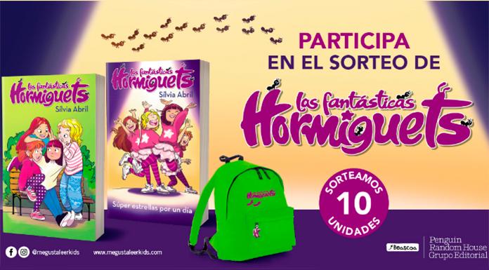 Sorteo de un 'Pack Vuelta al Cole' de Las fantásticas Hormiguets