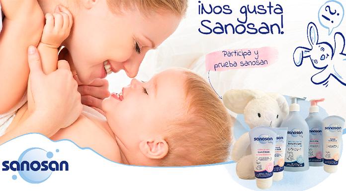 Consigue un lote de productos Sanosan