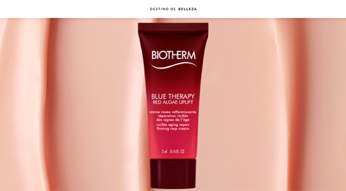 Muestras gratis de Blue Therapy Red Algae