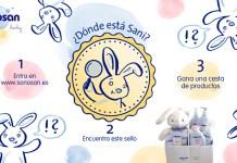 Sorteo de un lote de productos para la higiene y cuidados del bebé Sanosan