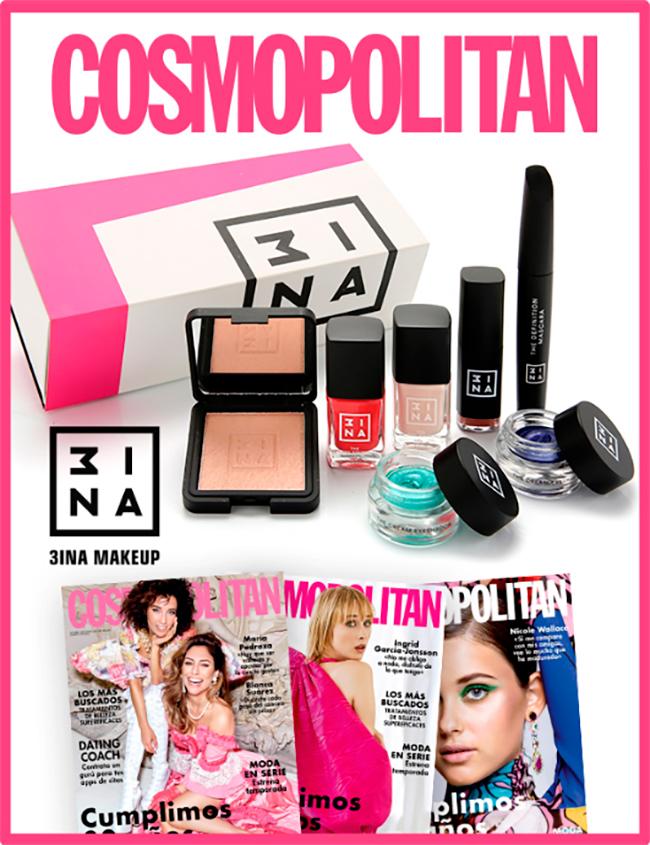 Regalos revista Cosmopolitan por suscripción noviembre 2020