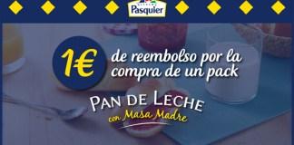 1 euro de reembolso en Pasquier