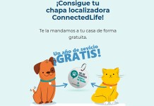 Consigue tu chapa localizadora ConnectedLife