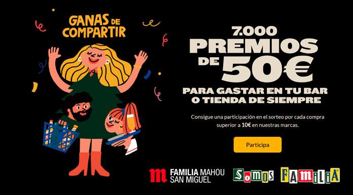 Mahou-San Miguel sortea 7.000 premios