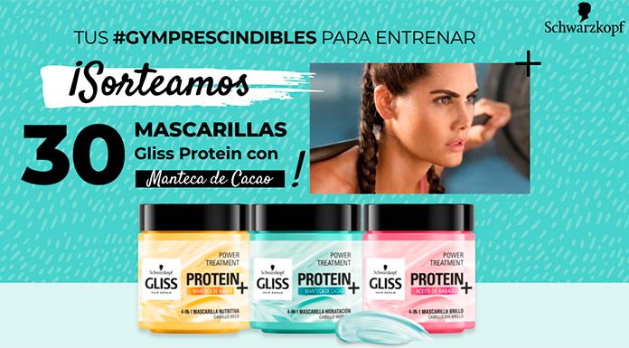 Sortean 30 mascarillas Gliss Protein