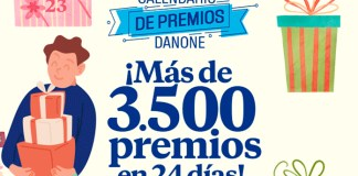 Calendario de Adviento Danone 2020