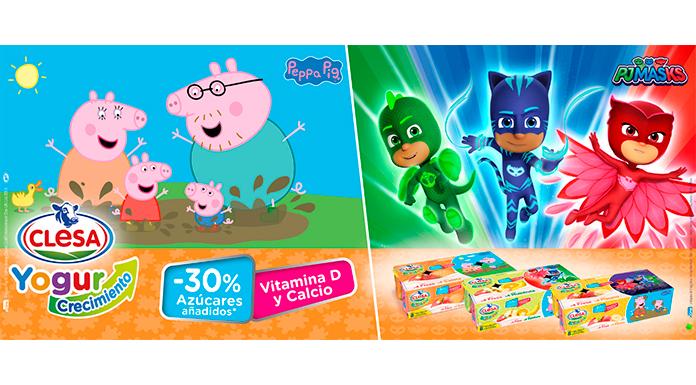 Gratis materiales de Peppa Pig y Pj Mask con Clesa