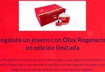 Gratis un joyero con Olay Regenerist