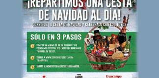Heineken reparte una cesta de Navidad al día