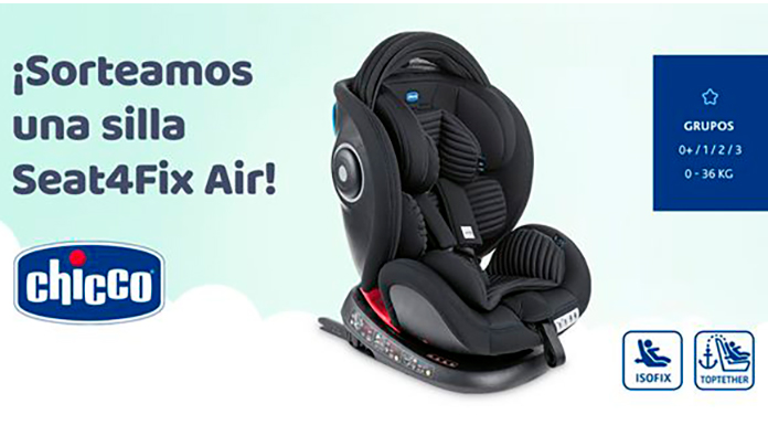 Let's Family sortea una silla Seat4Fix Air