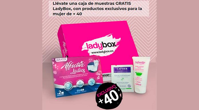 Llévate la caja de muestras gratis LadyBox